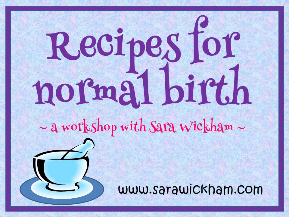 Click for details of Sara's upcoming workshops