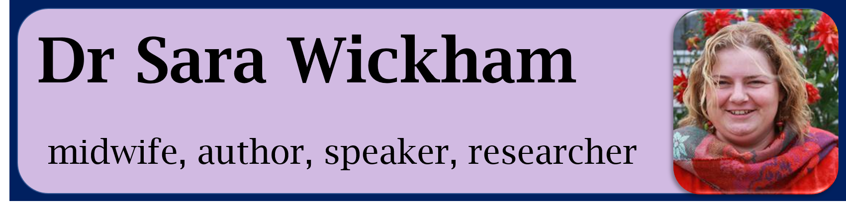 Dr Sara Wickham